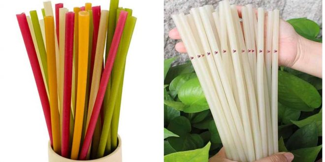 Eatable Edible Straws in Cebu