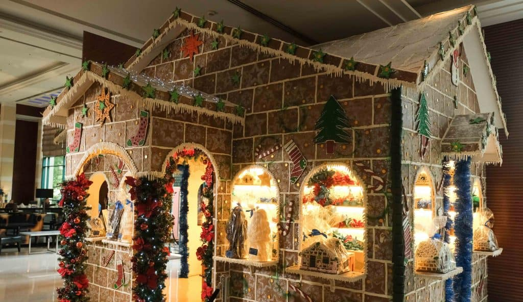 Gingerbread House at the Lobby