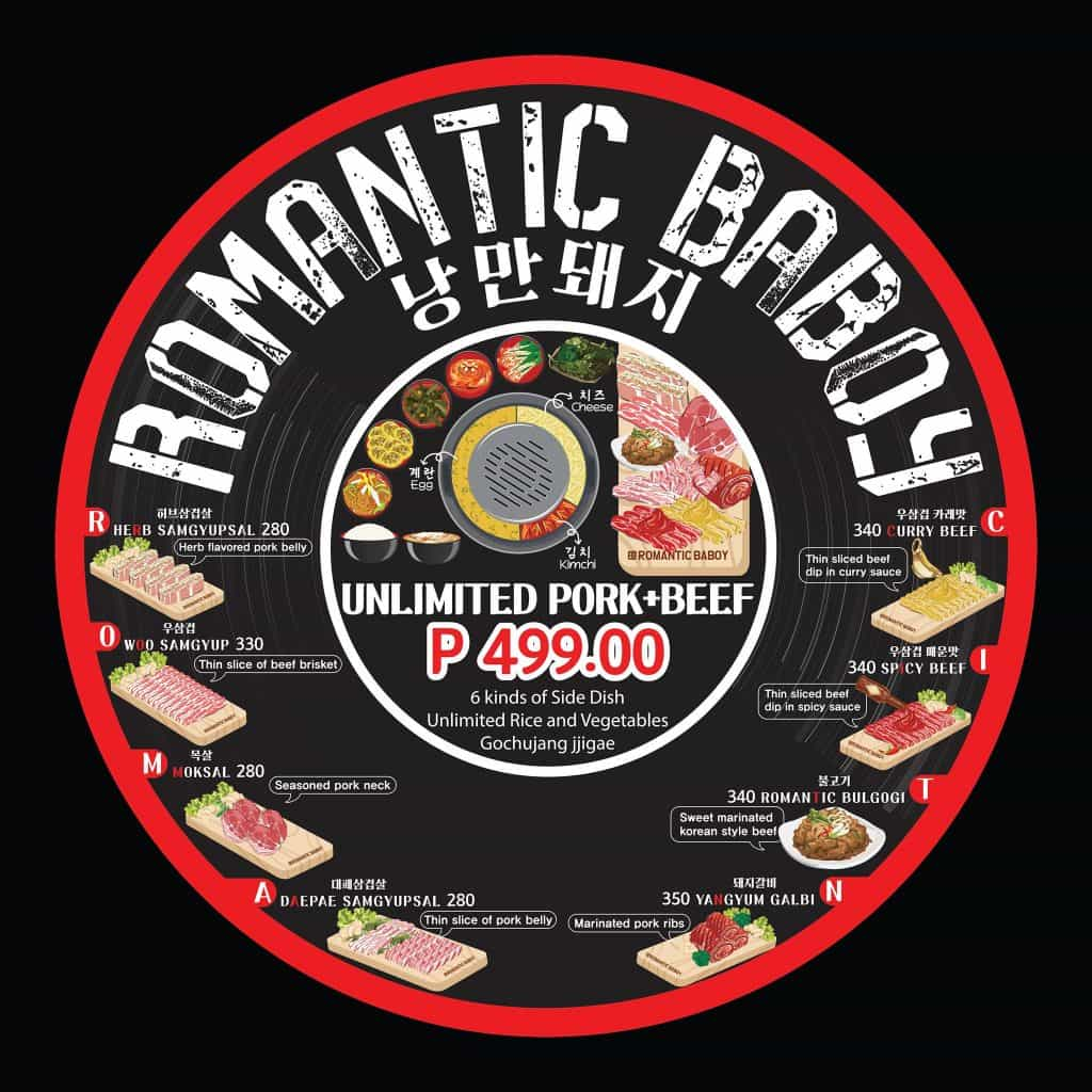 Romantic Baboy Samgyupsal Cebu