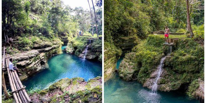 1Cancalanog Falls Alegria Cebu