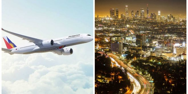 1PAL Cebu Los Angeles flight