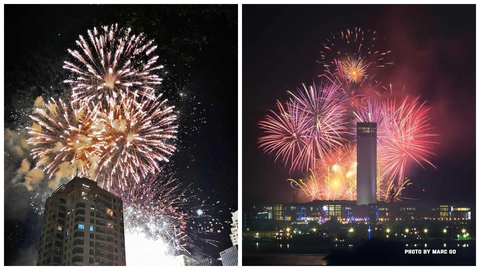 1Sinulog Fireworks 2020 in Cebu