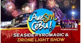 1Sinulog SM Seaside - Powerspoonz Drone Light Show Cebu