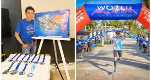 1Yong Larrazabal World Marathon Challenge