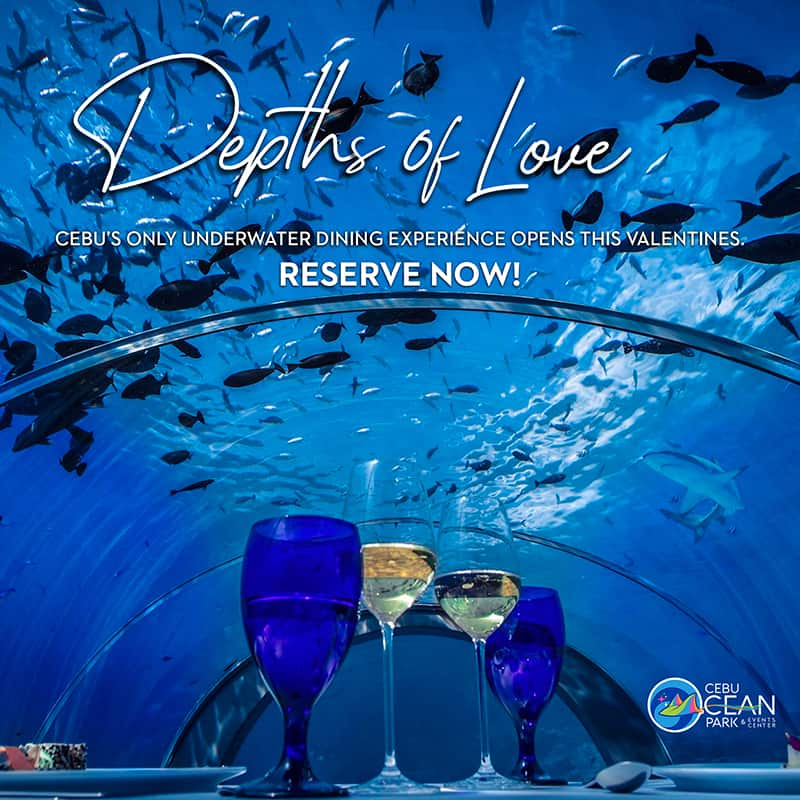 Cebu Ocean Park Depths of Love