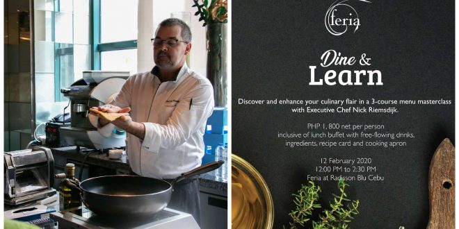 Radisson Blu Cebu Dine and Learn