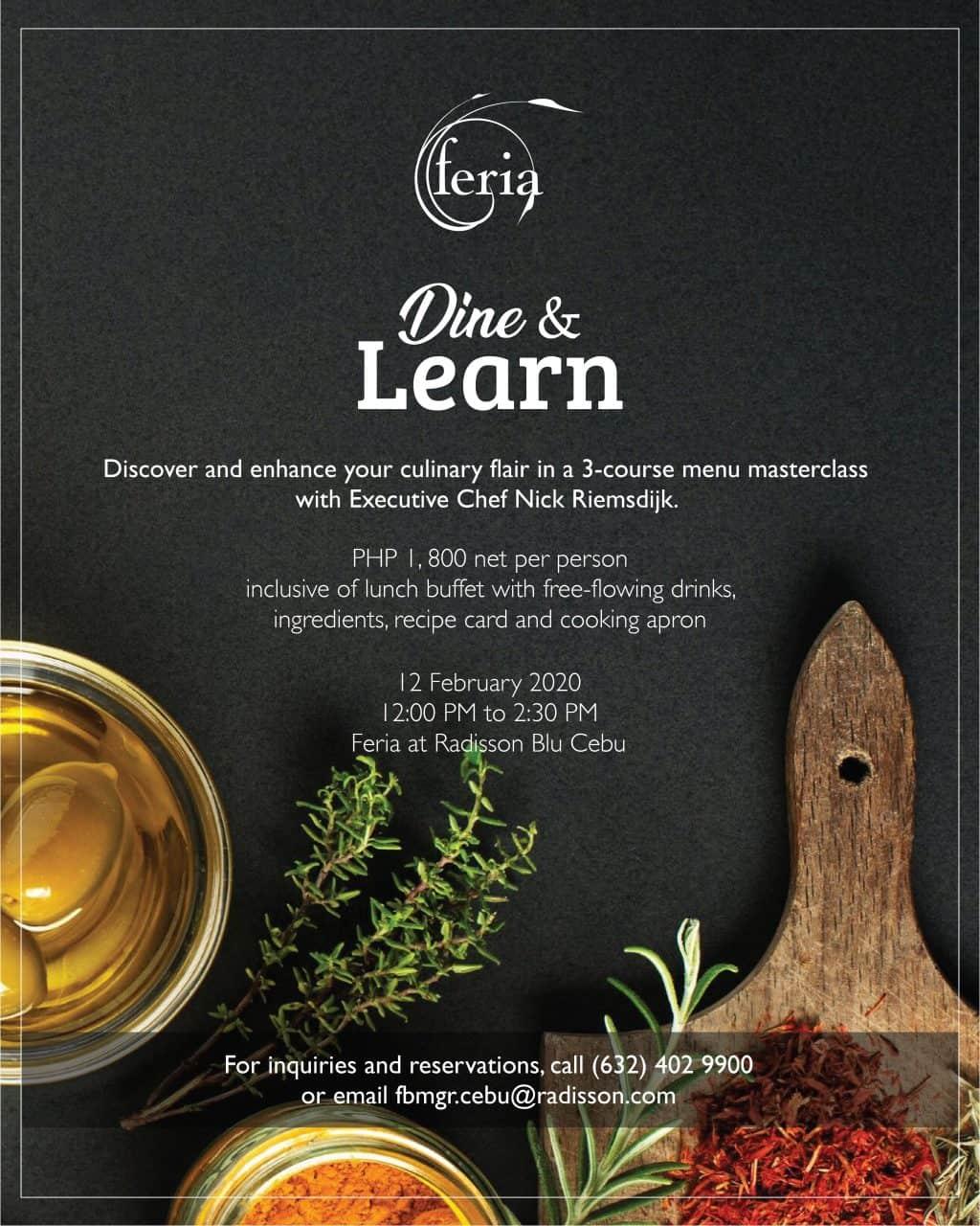 Radisson Blu Feria Cebu Dine and Learn (1)