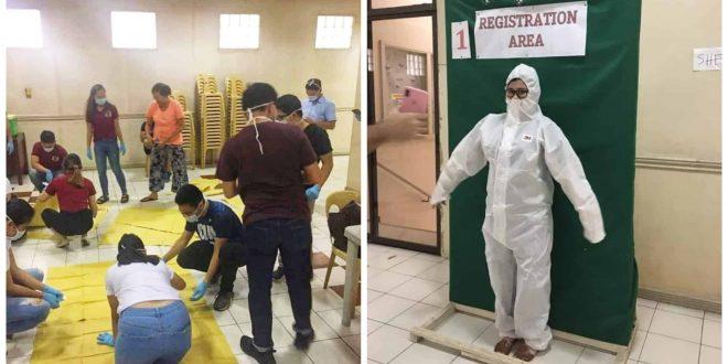 1AMRO Cebu donates PPE covid19