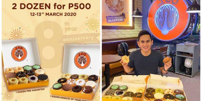 1JCO Donuts Anniversary promo cebu