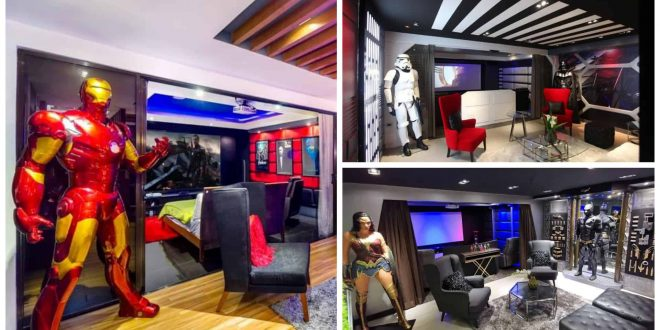 1Marvel ironman themed Airbnb Cebu