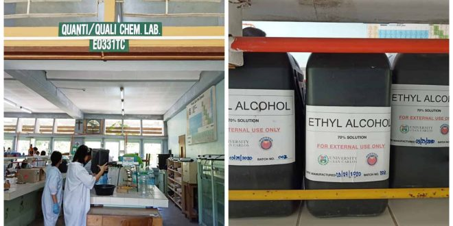 1USC TC Cebu Chemistry Department Alcohol