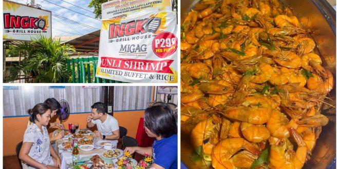 1ingko grill unli shrimps buffet lapu-lapu