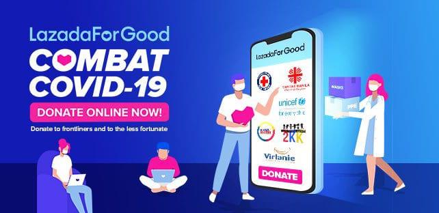 5Lazada Donate Online COVID-19 cebu