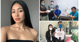 1Nadine Lustre donates for frontliners COVID-19