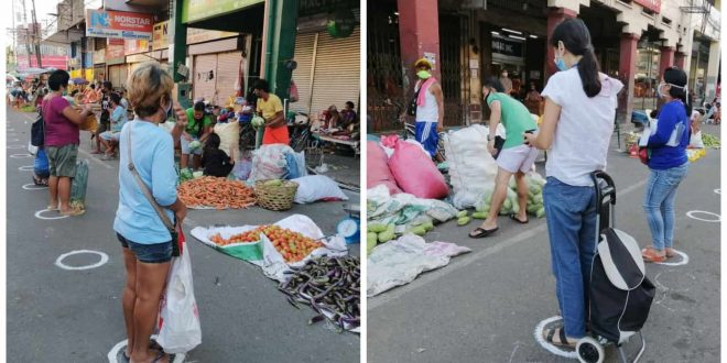 1Social Distancing Cebu City Market