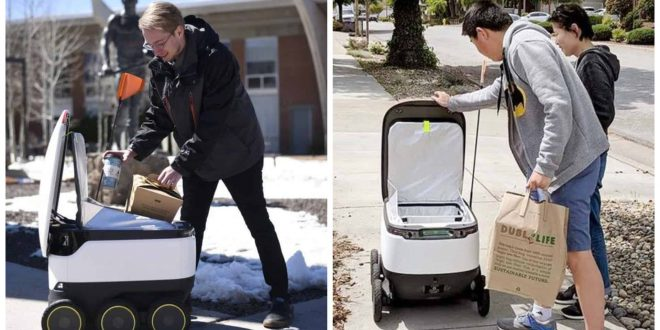 1Starship Robot Food Delivery