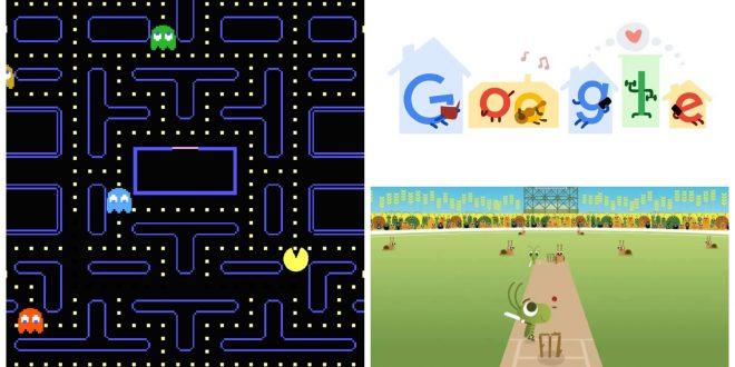 1google doodle games