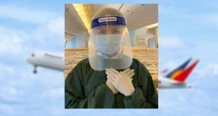 PAL Flight Attendants PPE