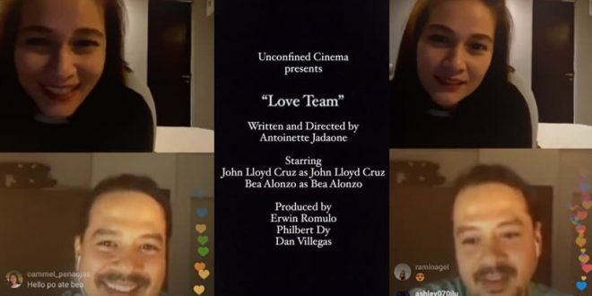 bea and johnlloyd instagram live-2