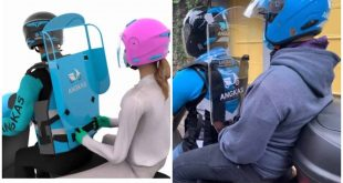 1 Angkas Plastic Shield New Normal