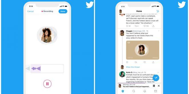 1 twitter audio voice tweets