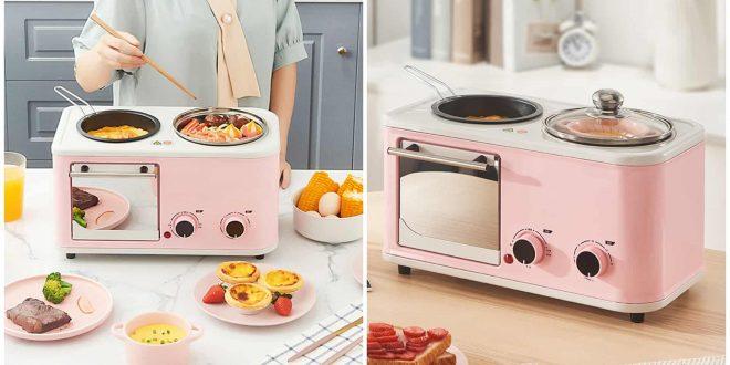 3 in 1 breakfast machine toaster oven