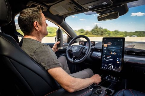 Ford hands-free driving system