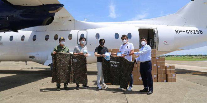 OPAV Dino 1million surgical masks cebu (1)