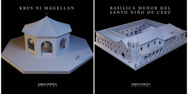 1 Cebu Structures Replicas Origami