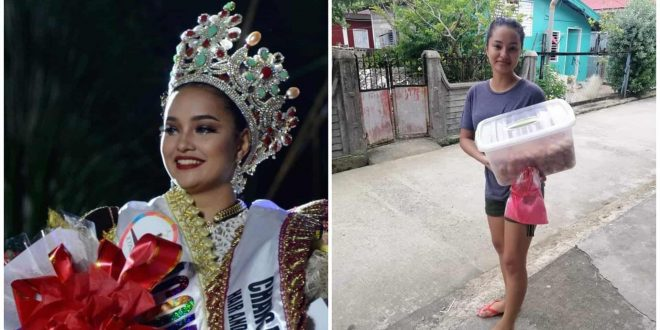 1 Monika Afable Sinulog Queen sells siakoy