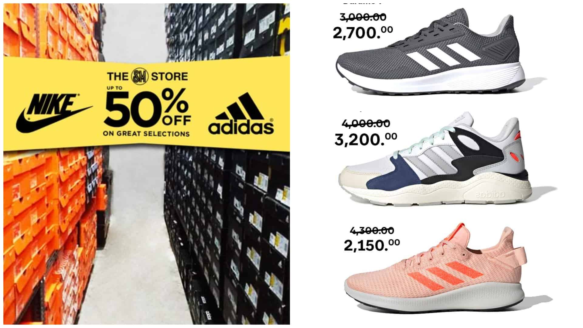 Injusto Romance espectro  Sale alert! 50% OFF on Nike and Adidas Sneakers Online Sale | Sugbo.ph -  Cebu