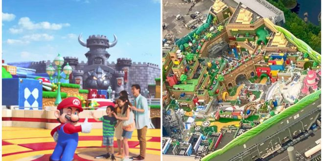 1 Super Nintendo World Theme Park Japan