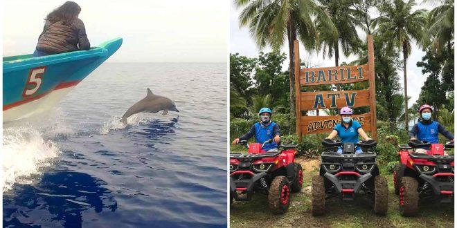 1 barili dolphin watching atv adventure cebu