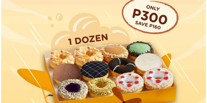 1 jco donuts online grabfood promo