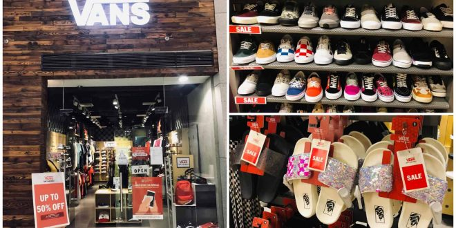 Vans store in Cebu City reopens, offers up to 50% off