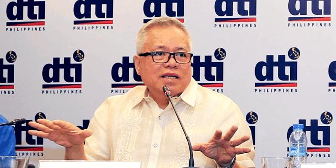 DTI Trade Secretary Ramon Lopez