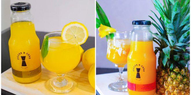 1 Jigger & Gene Cebu Cocktail Bottles