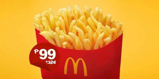 McDo BFF Fries P99 only