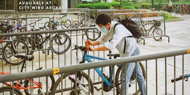 bike friendly parkings at sm cebu