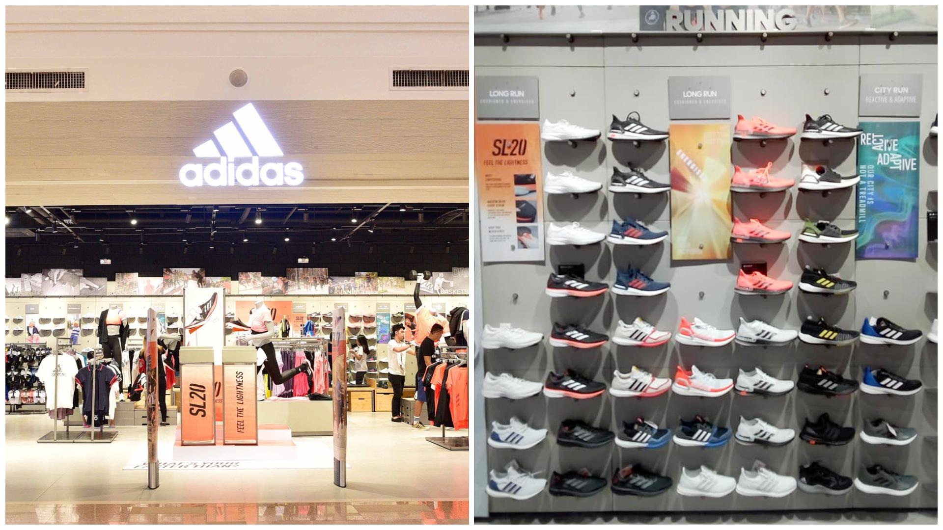 Adidas branch in Cebu City