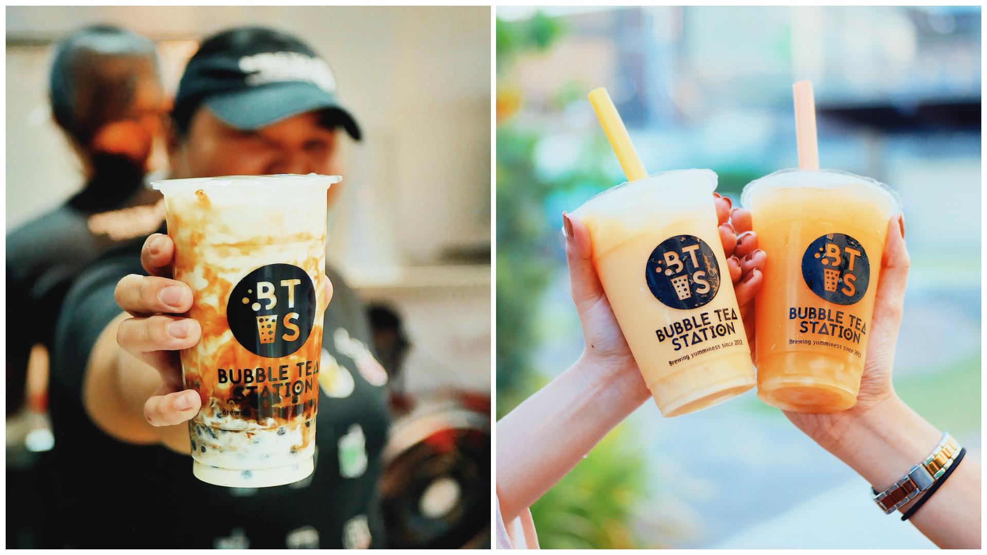 1 Bubble Tea Station Milk Tea Cebu