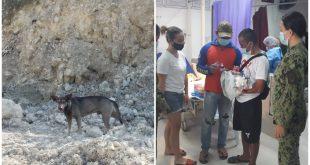1 dog finds Newborn baby Sibonga Cebu