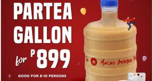 1 macao imperial tea cebu partea gallon